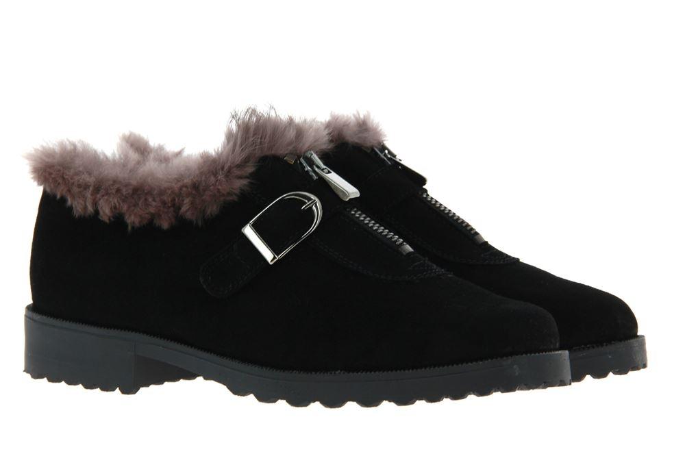 Brunate sneaker lined DANY CAMOSCIO NERO