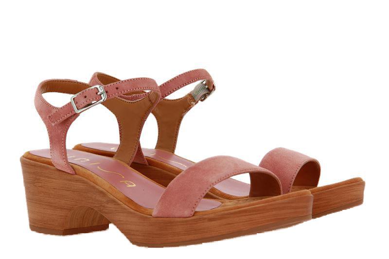 Unisa sandals IRITA KID SUEDE ROSA