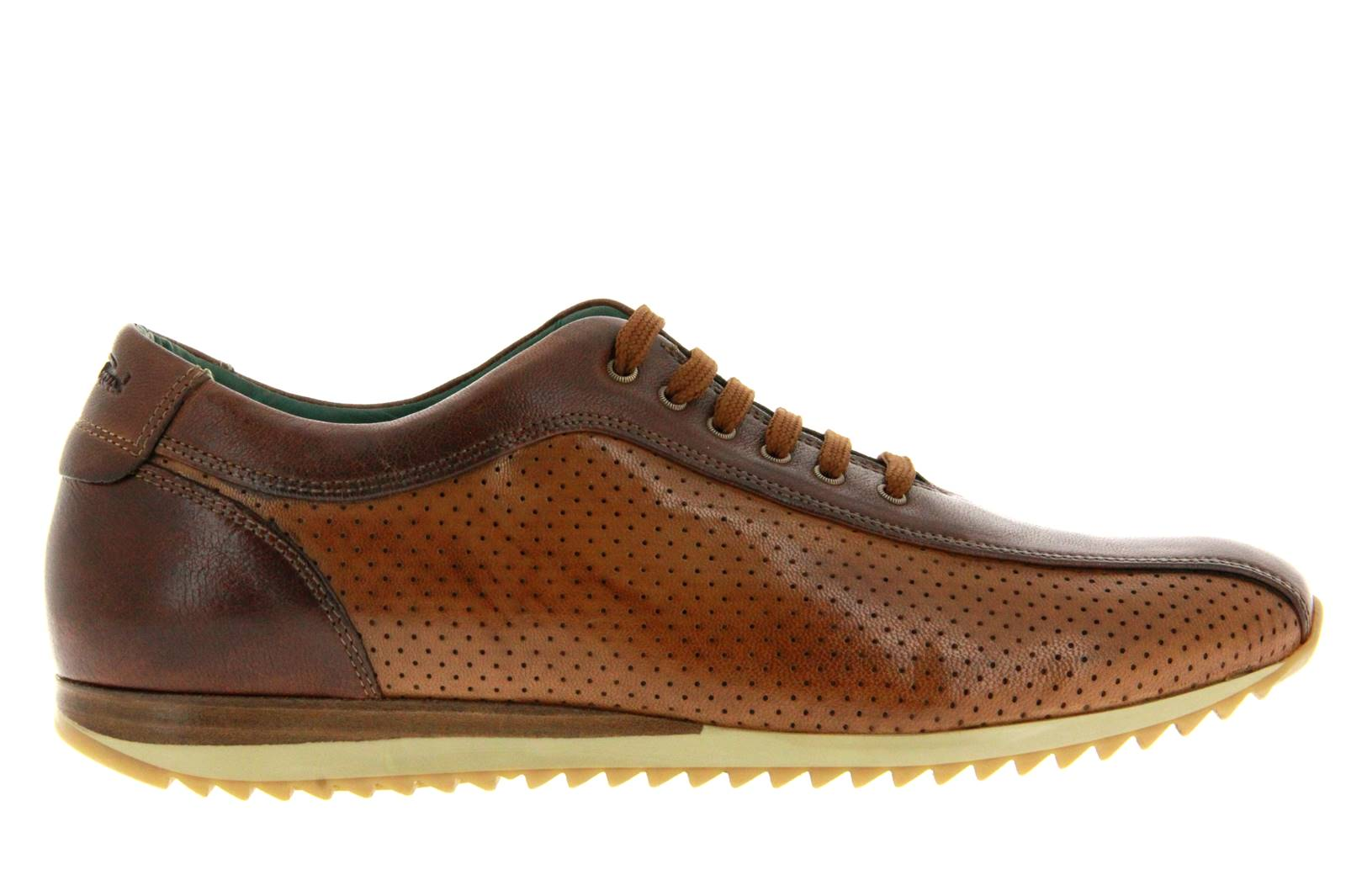 Galizio Toressi Sneaker CUOIO BROWN COGNAC (41)