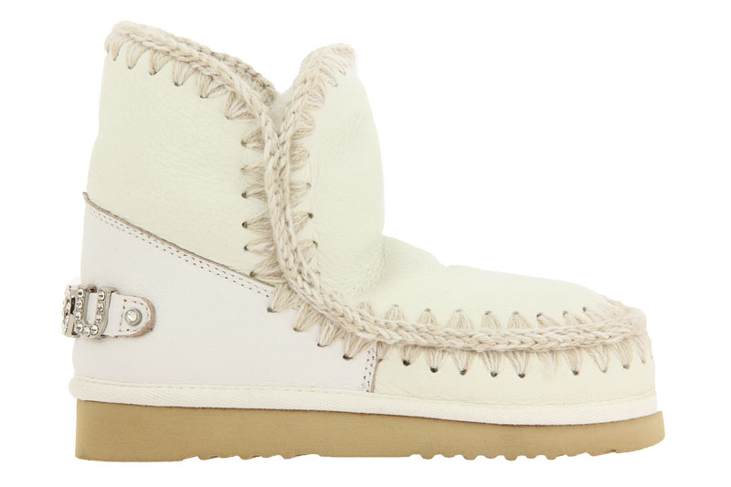 MOU boots RUNNING ESKIMO 18 LOGO WAXI WHITE