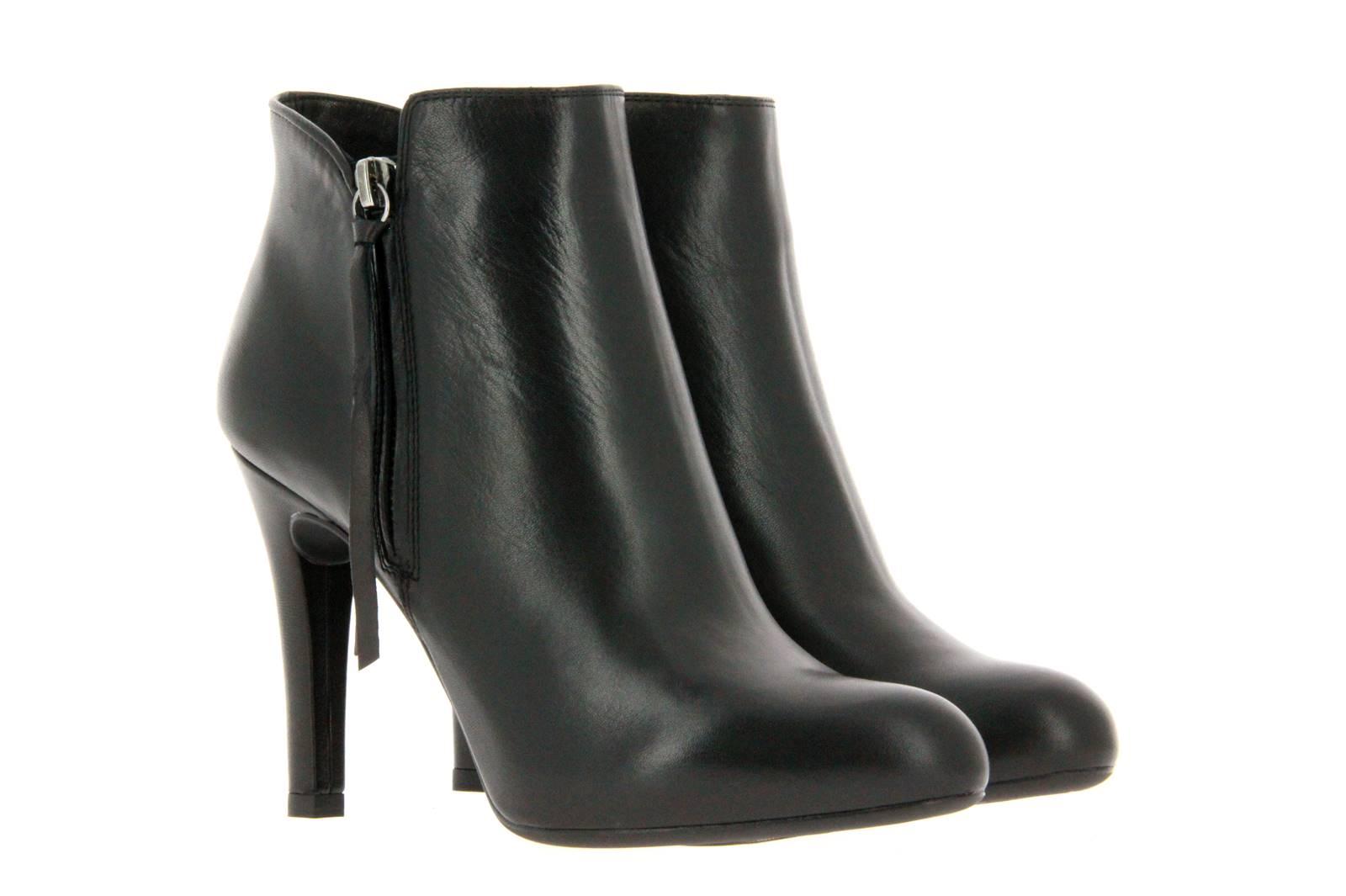 Unisa ankle boots PALAZO BLACK NAPA