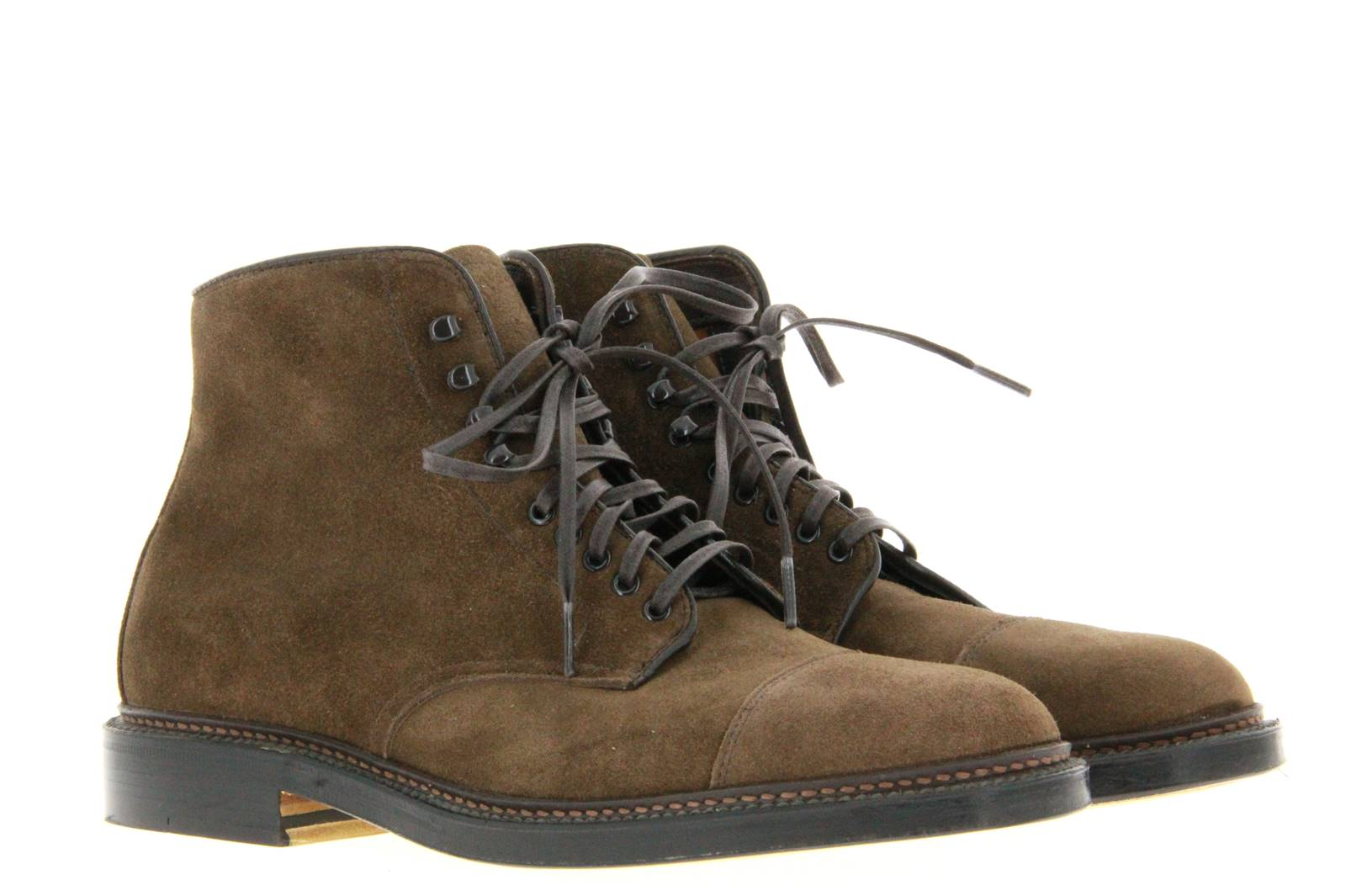 Alden lace-up ankle boots HUMUS SUEDE