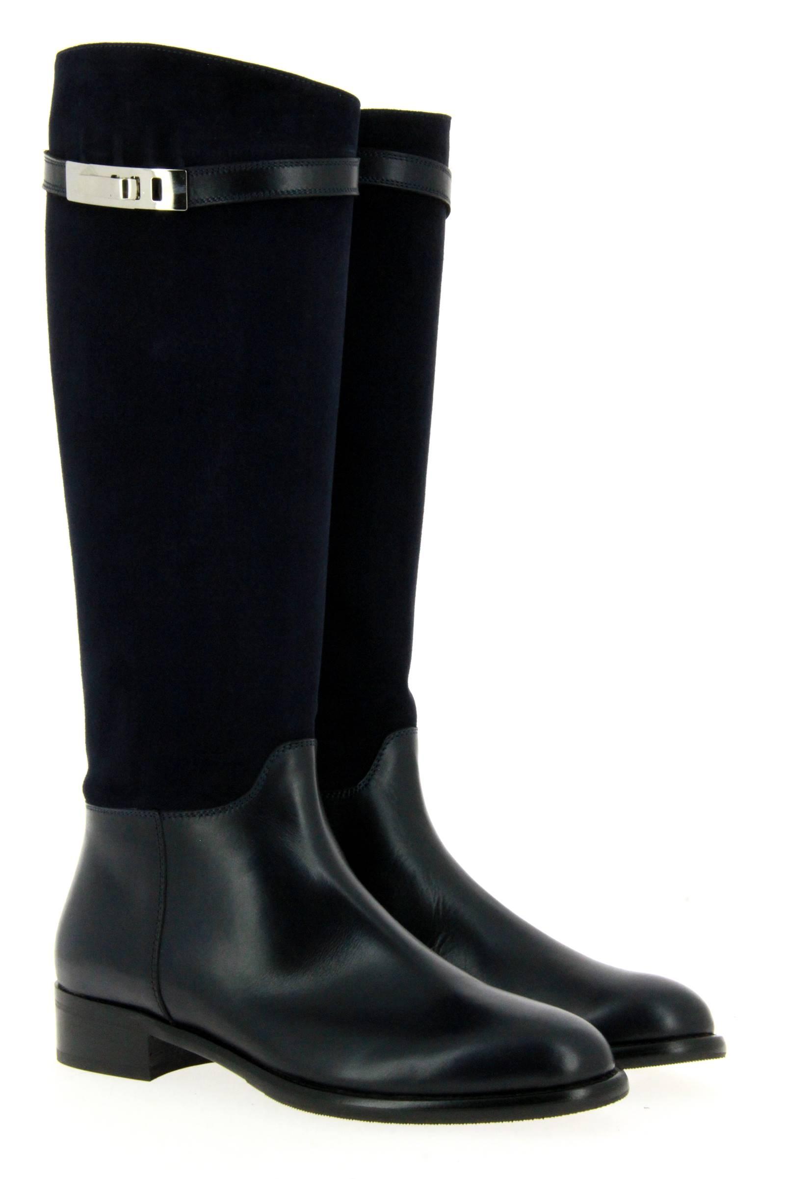 Maretto boots NERO CAMOSCIO