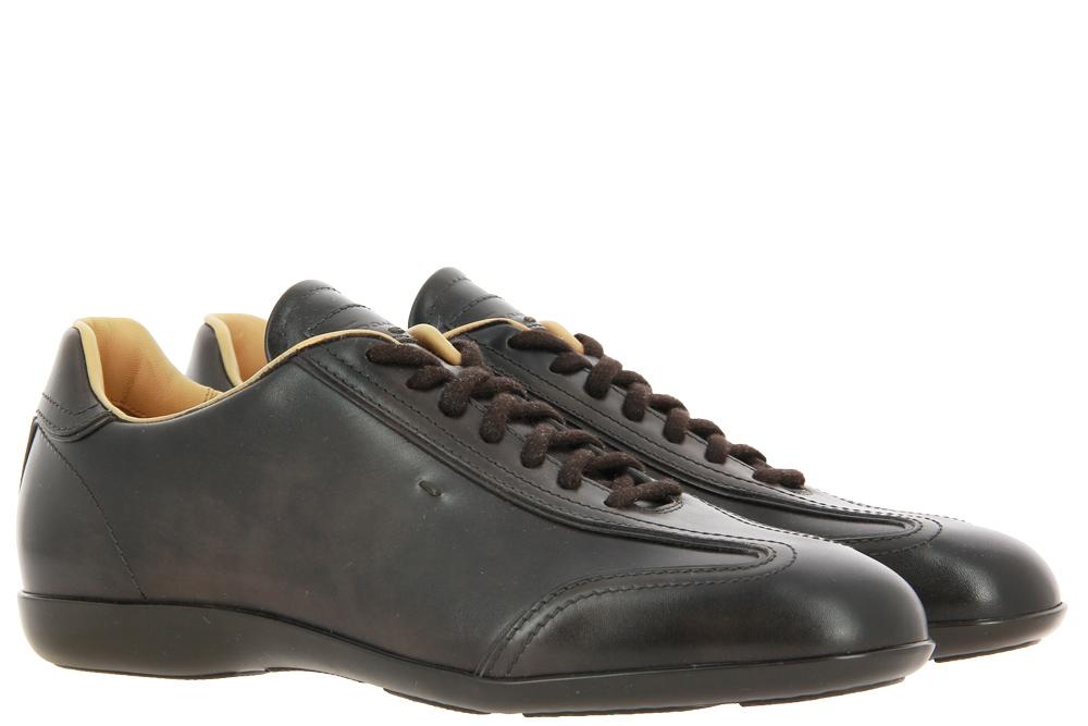 Santoni sneaker MBEA DARK BROWN