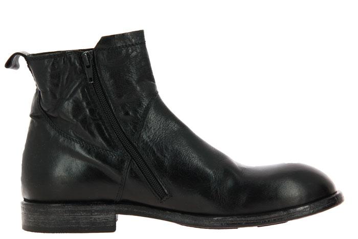 Moma ankle boots UOMO BUFALO NERO 101