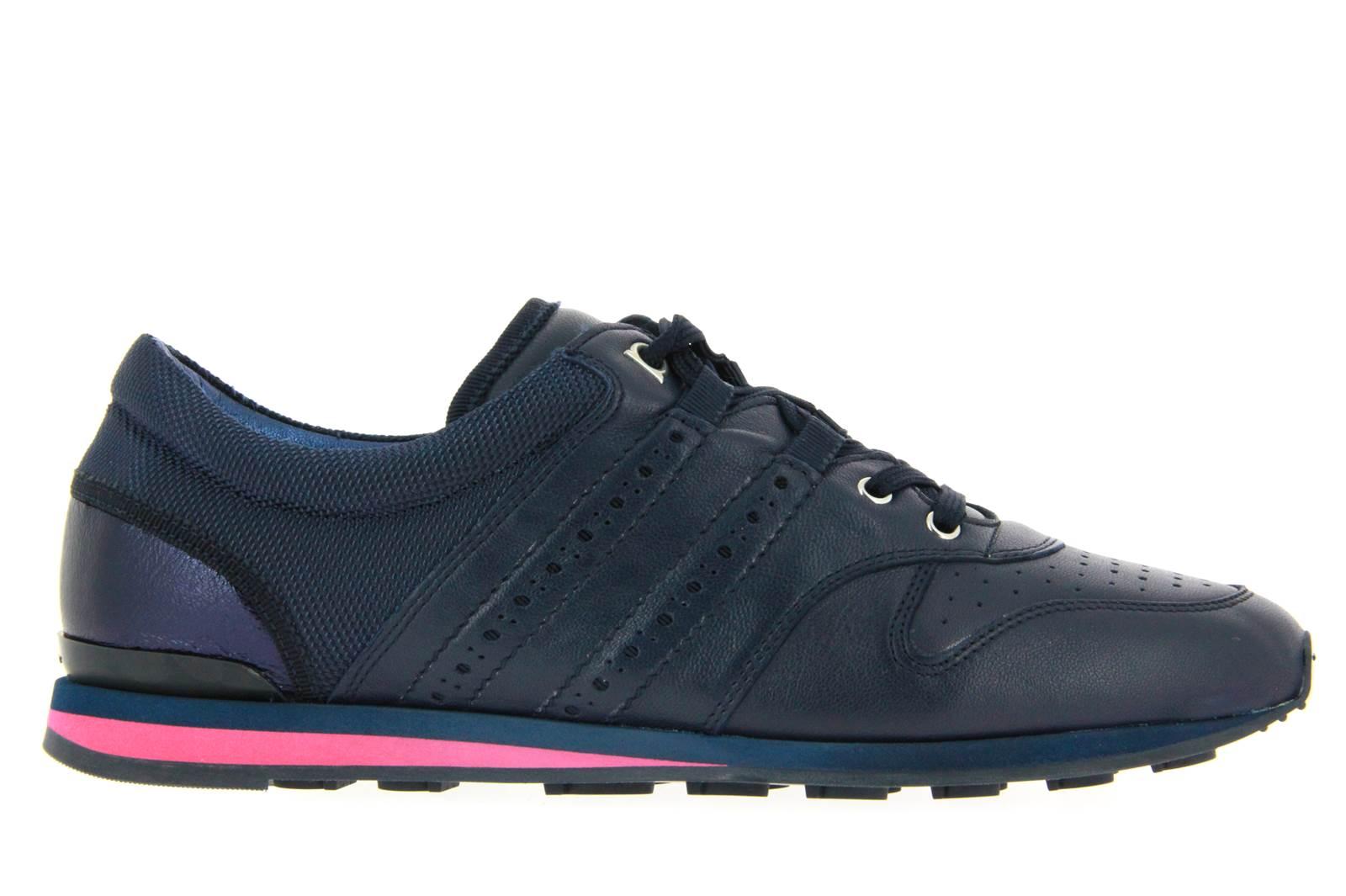 Salvaore Ferrgamo Sneaker PLINY CALF BLU (36)