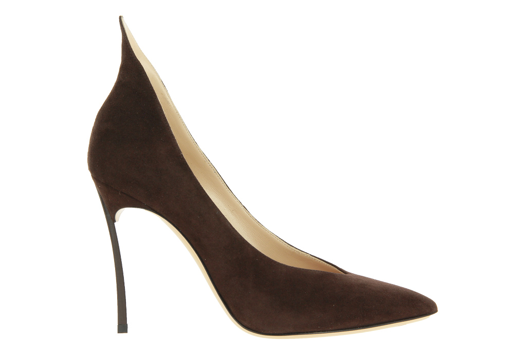 Casadei high heels BLADE CAMOSCIO TRUFFLE