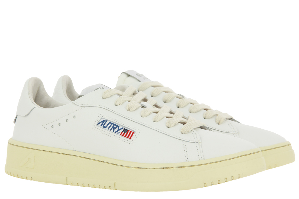 Autry sneaker DALLAS LOW MAN LEATHER WHITE