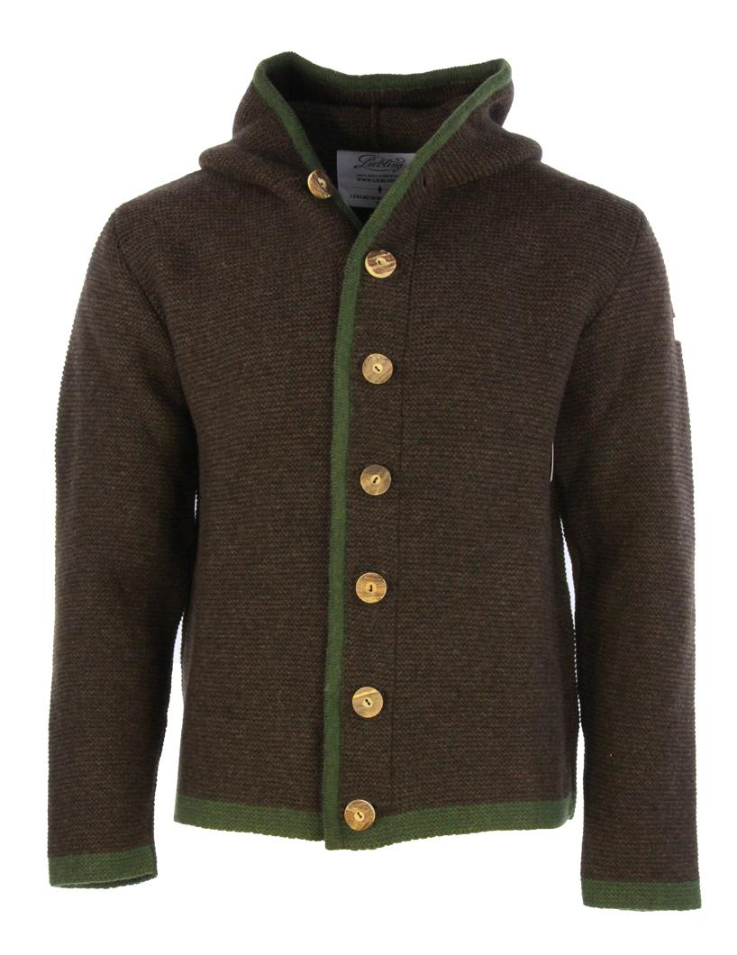 Liebling Tyrolean jacket THOMAS 2 BRAUN LODEN