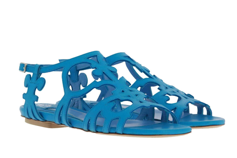 Truman's sandals RODEO LISCIO TURCHESE