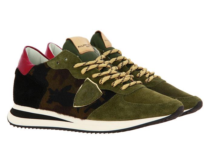 Philippe Model sneaker TROPEZ PONY CAMOUFLAGE
