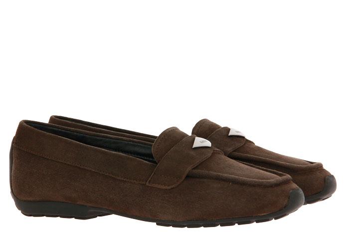 Mania slipper lined VELOUR 914 MORO