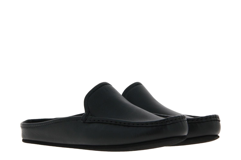 Fortuna house shoe ELLA AGO NAPPACALF PORO BLACK