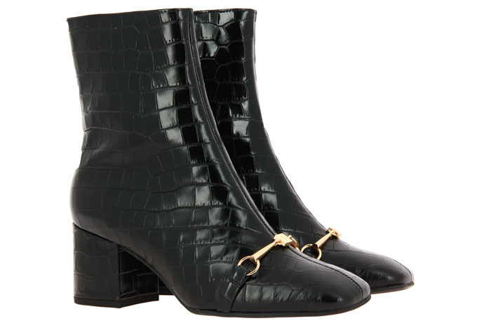 Högl ankle boots BLACK CROCO PRINT