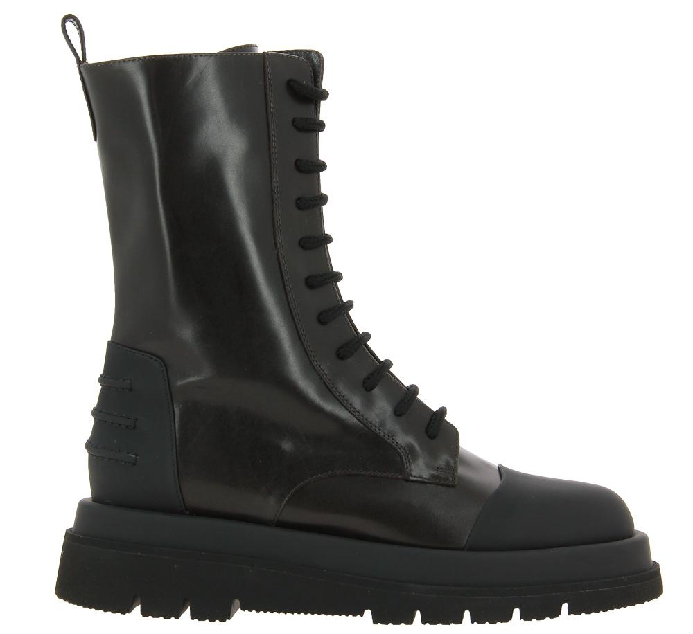 Truman's ankle boots VITELLO DARK BROWN GUM NERO