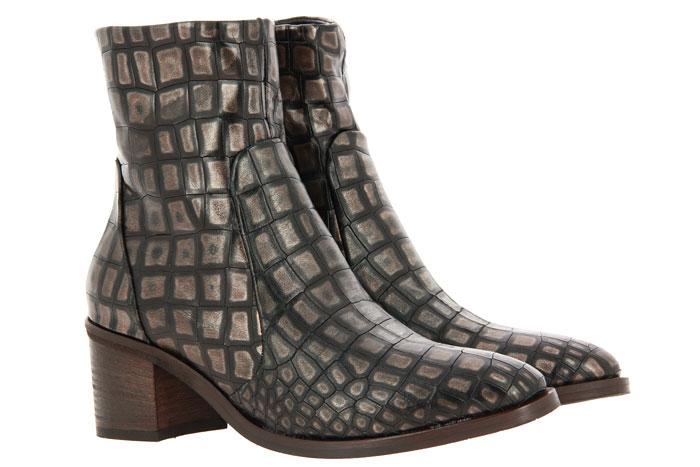 Donna Carolina ankle boots COCCO BRONZO SUOLA DRESSY