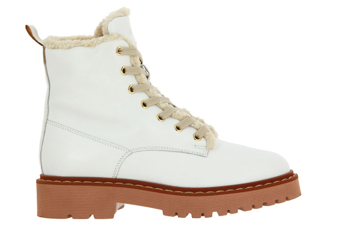 Hogan ankle boots lined TRONCHETTO BIANCO