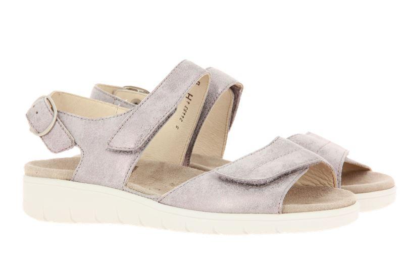 Semler sandals DUNJA METALL VELOUR PANNA