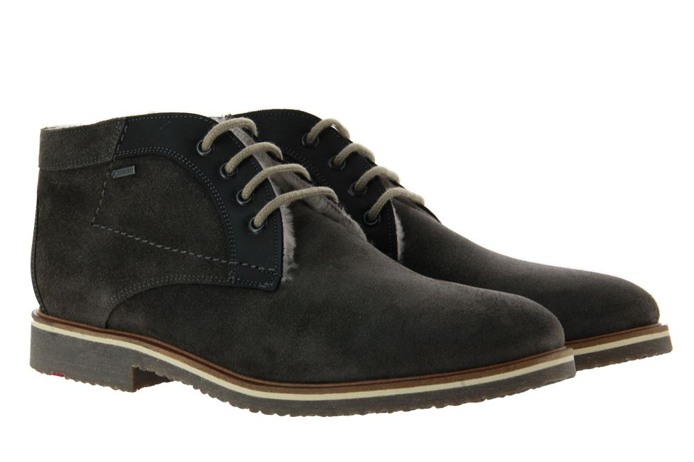 Lloyd lace-up ankle boots lined VARUS SUMMER HYDRO LAVA