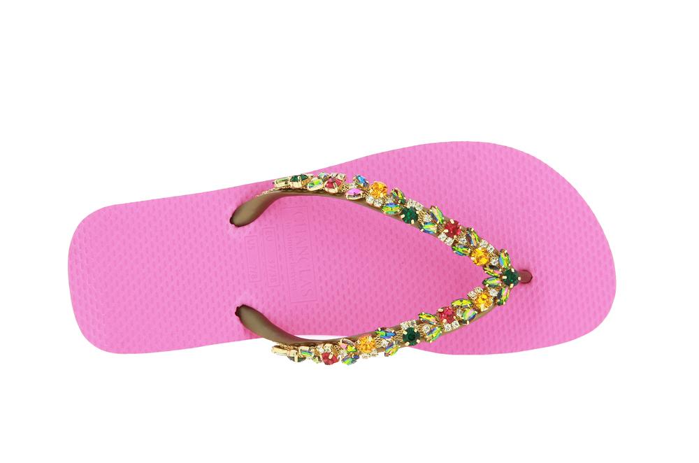 Chanclas Zehensteg Sandale CLARA PINK