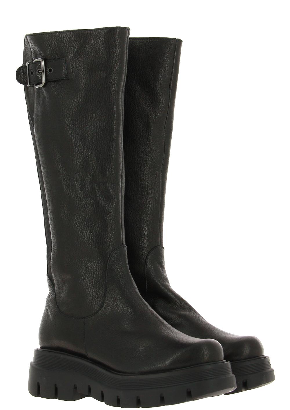 Brunate boots lined EDO EPOQUE NERO