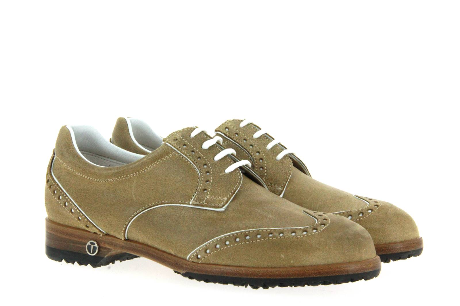 TEE GOLF SHOES WOMEN- golf shoe SALLY CROSTA CAMEL