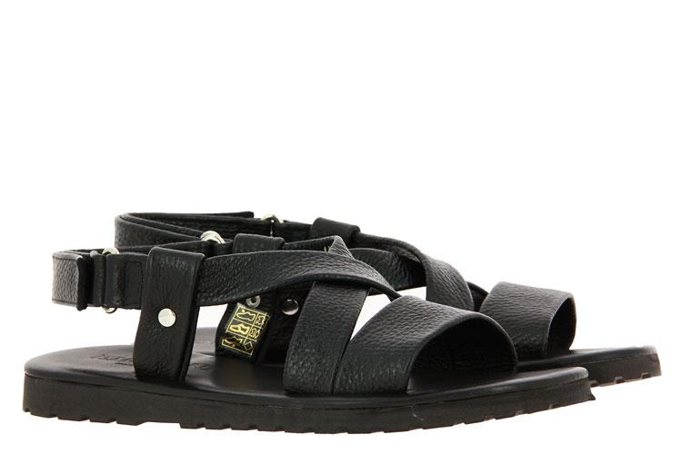 Emozioni sandals LEATHER BLACK