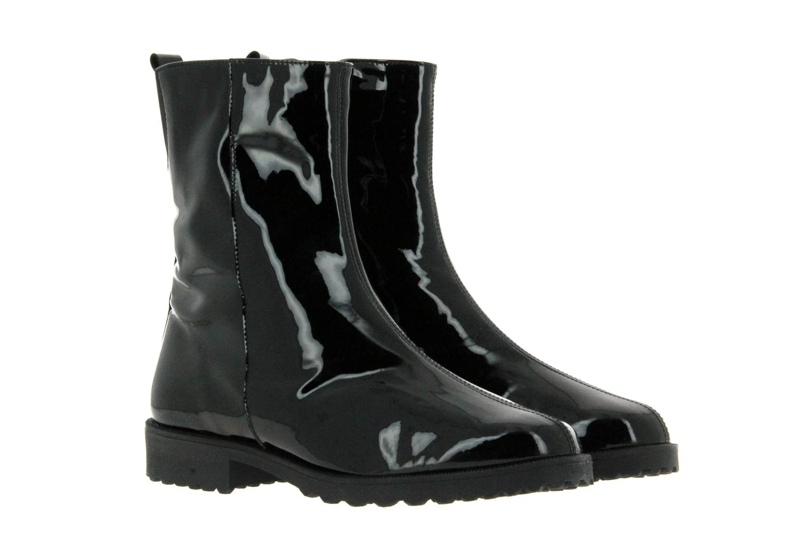 Brunate ankle boots lined DANY SOFTLACK NERO