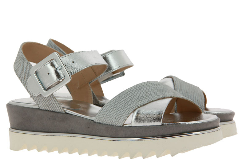 Luca Grossi sandals LUXOR 61 ARGENTO GREY