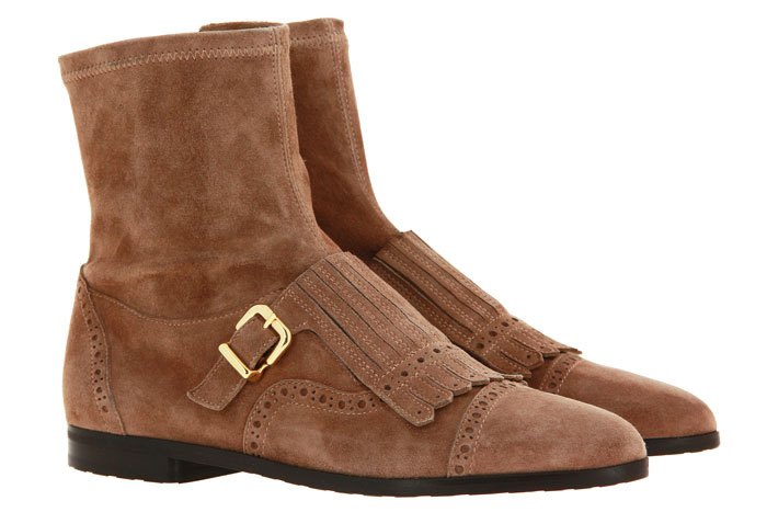 Truman`s ankle boots CAMOSCIO ACERO