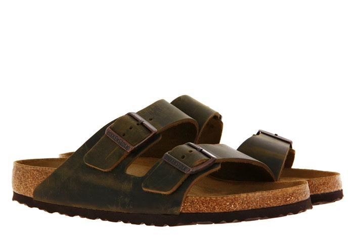 Birkenstock sandals ARIZONA NORMAL BS MUD GREEN