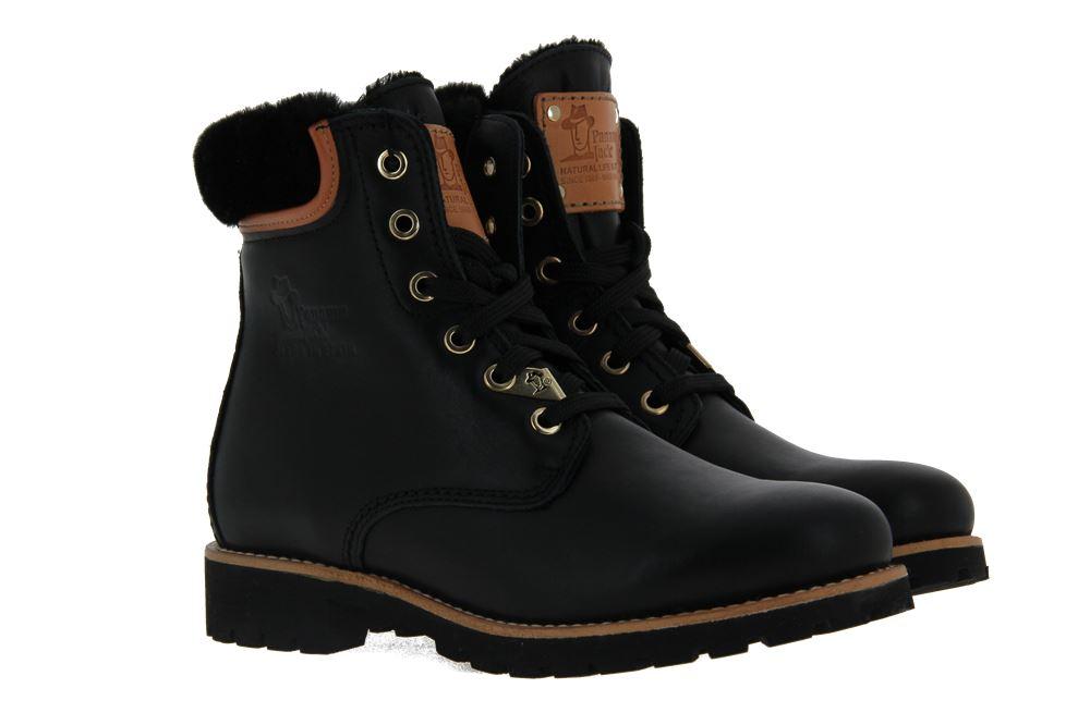 Panama Jack ankle boots lined PANAMA 03 IGLOO TRAVELLING NAPA NEGRO