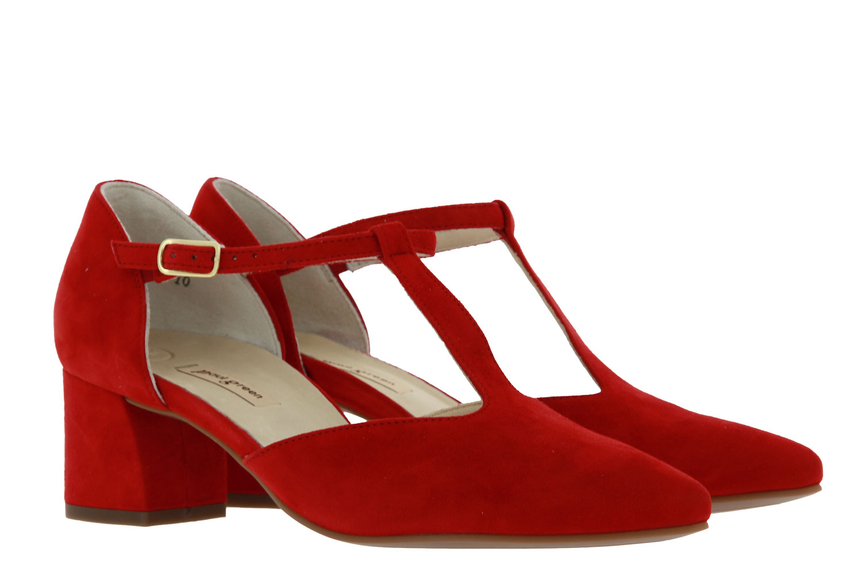 Paul Green sandals SAMTZIEGE RED