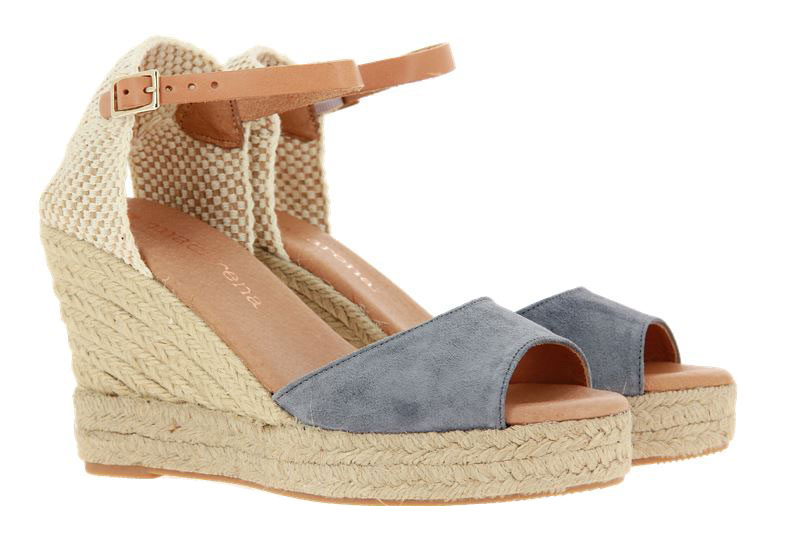 Macarena wedge sandals LARA36 GRIS