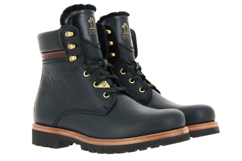 Panama Jack ankle boots lined IGLOO BROOKLYN C3 NAPPA GRASS NEGRO