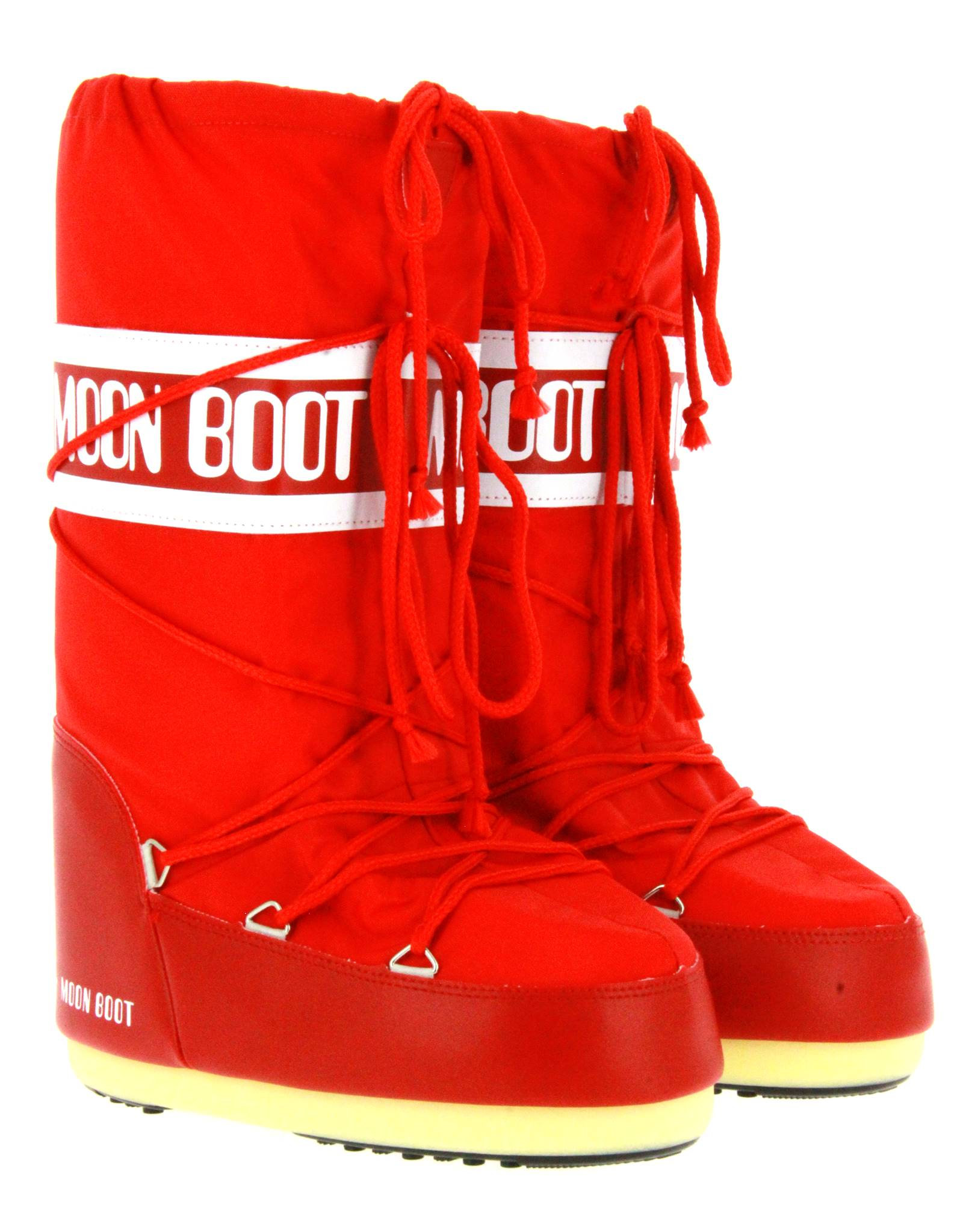 Moon Boot snow boots NYLON RED