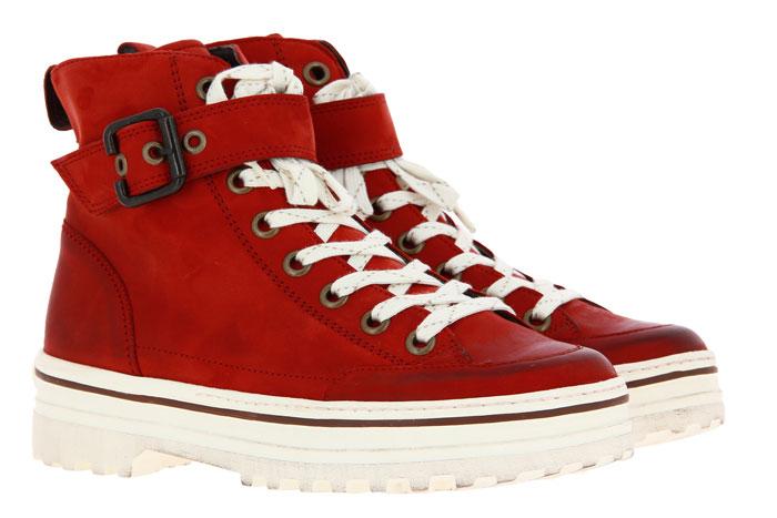 Paul Green ankle boots ROYAL NUBUK PUMPKIN