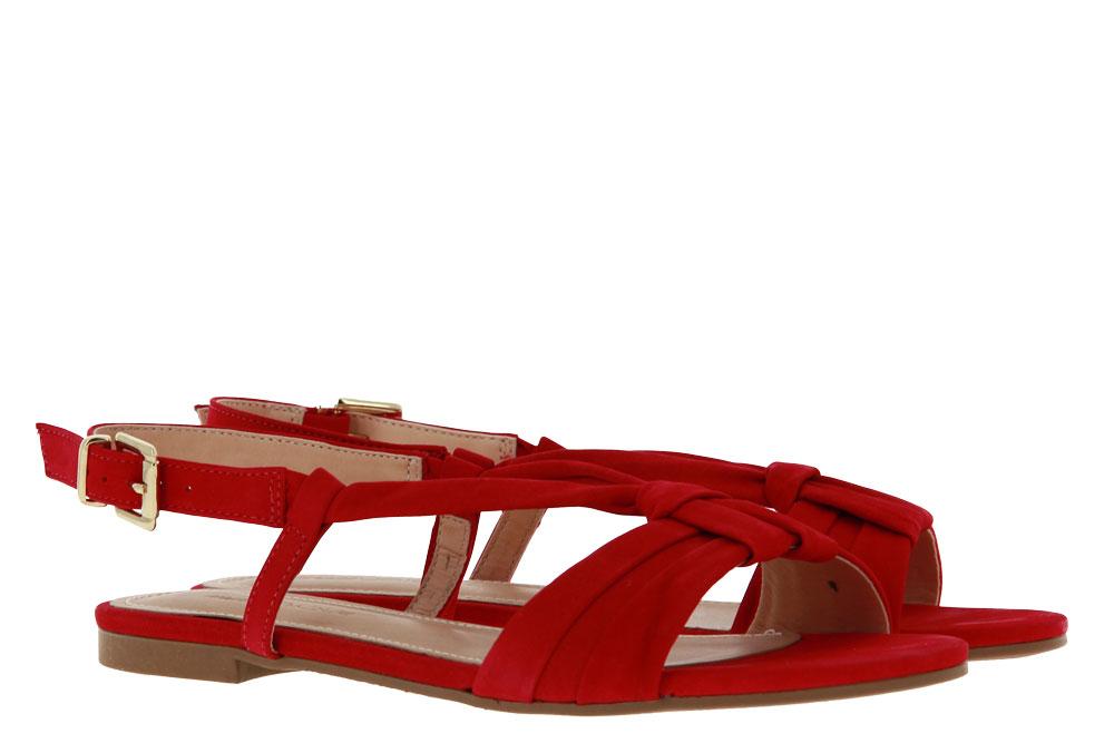 Unique sandals LIZA NOBUCK VERMELHO