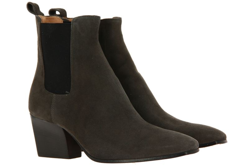 Pomme D'Or ankle boots CAMOSCIO IRISH GREY