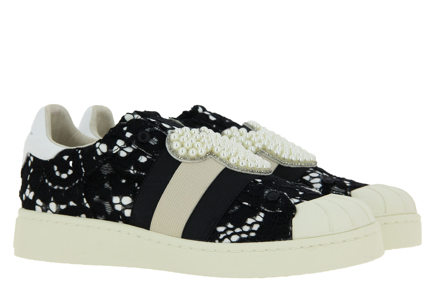 MOA Master of Arts sneaker MACRAME ACTION BLACK