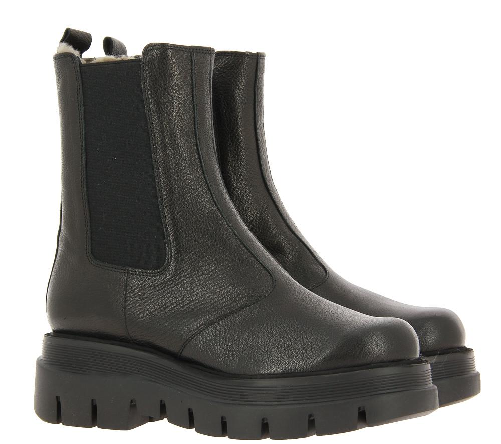 Brunate ankle boots lined EDO EPOQUE NERO
