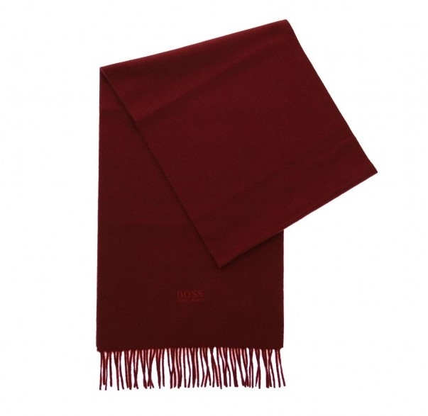 Hugo Boss TAILORED scarf T-SCOTTAS ROT