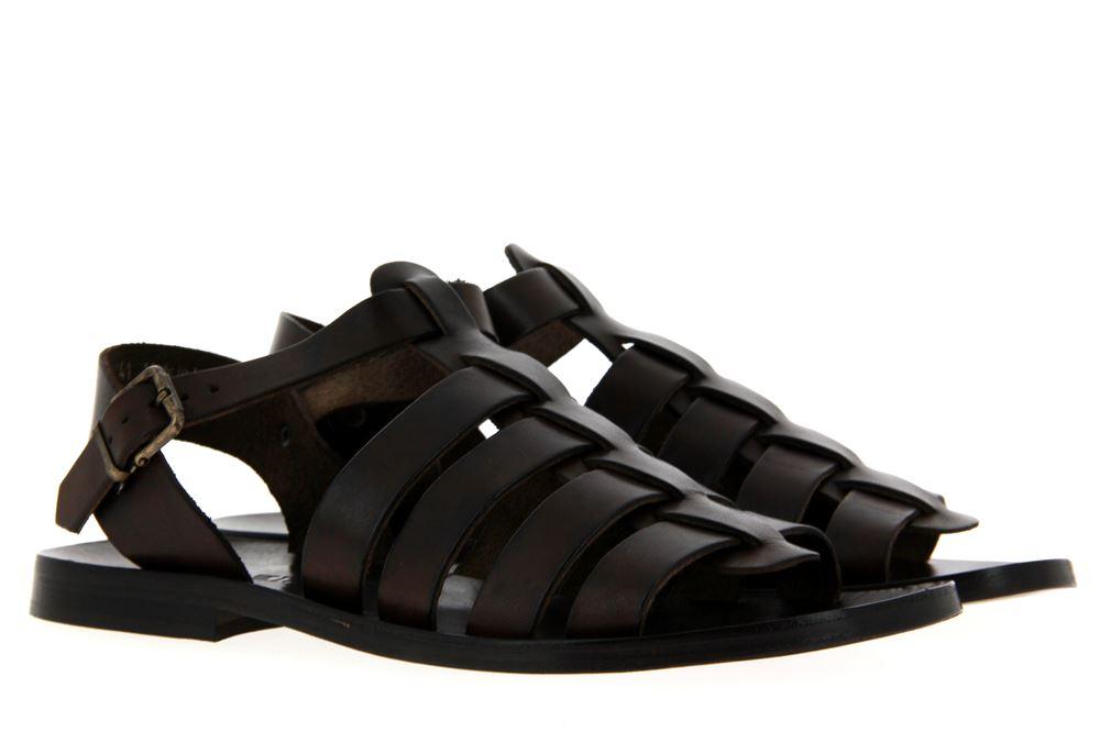 Emozioni gladiator sandals LEATHER DARK BROWN 412