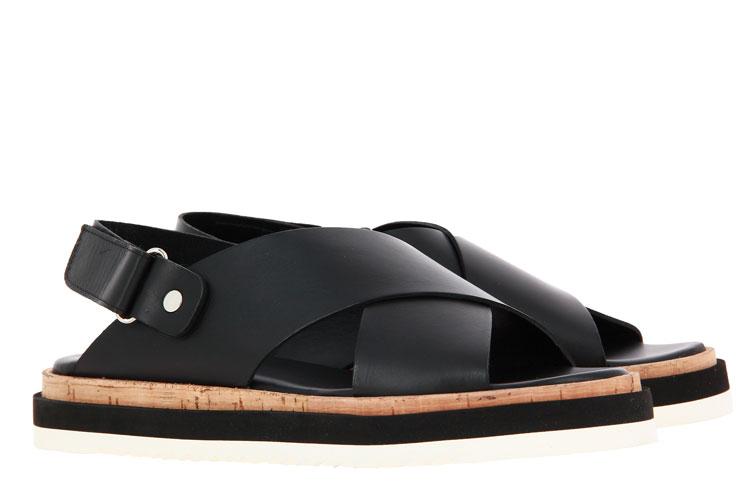 Attilio Giusti Leombruni sandals NAPPA NERO