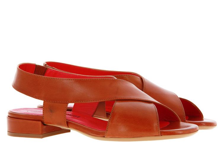 Pas de rouge sandal MILA PARMA CUOIO PARMA MARRONE