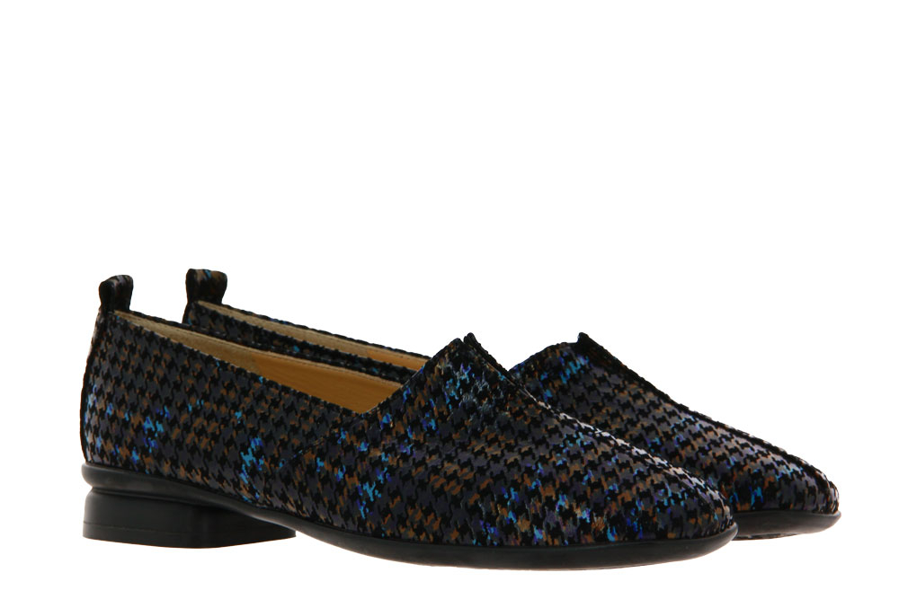 Brunate slipper BACCAN NEW YORK BRITISH BLACK