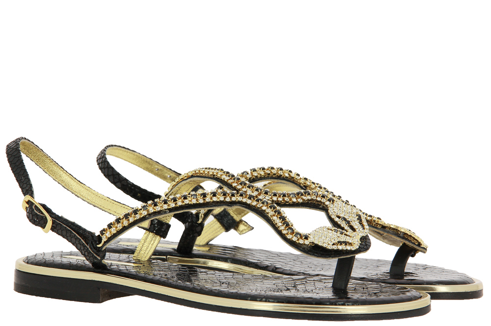Paola Fiorenza sandals SERP NERO
