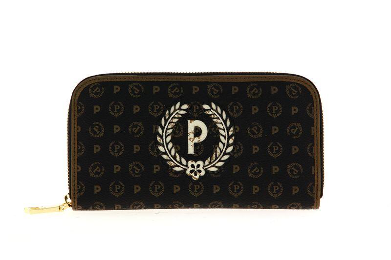 Pollini wallet HERITAGE NERO BRONZO