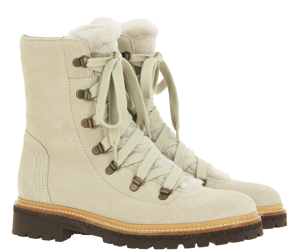 Dirndl + Bua boots lined ROCK LIGHT CACHMIRE