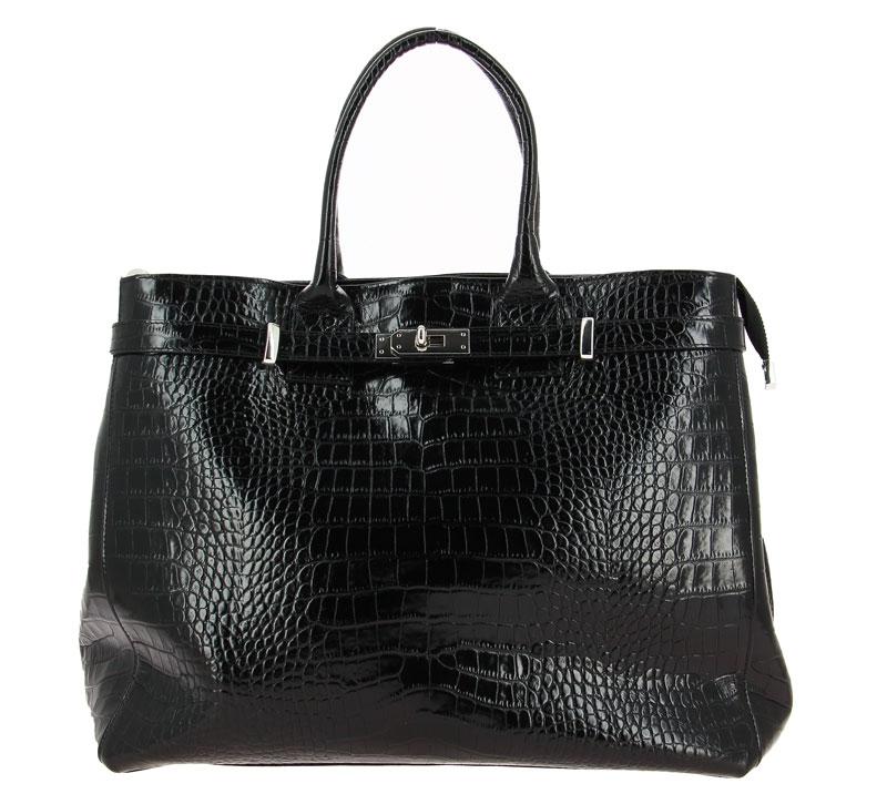 Carol J. handbag VERNICE COCCO NERO